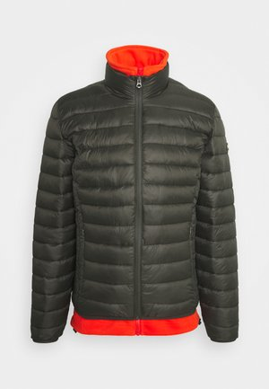 WILSON 2IN1 - Light jacket - khaki/orange