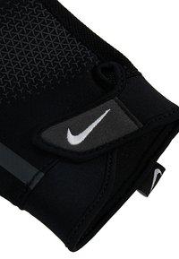 Nike Performance - MEN´S EXTREME FITNESS GLOVES - Fingerless gloves - black/anthracite/white - 5