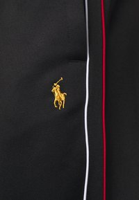 Polo Ralph Lauren - LUX TRACK - Pantalon de survêtement - black - 6