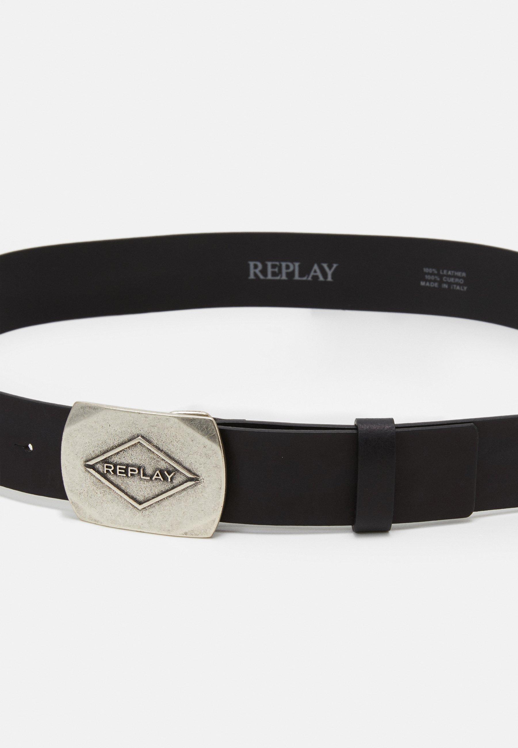 Replay Belte - black/svart jmyk3xrpZIaA3iL