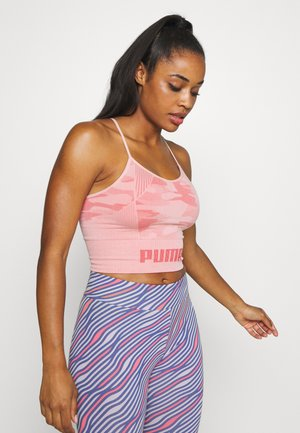 EVOKNIT SEAMLESS CROP - T-shirt de sport - bridal rose