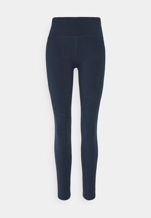 POWER 7/8 WORKOUT LEGGINGS - Medias - navy blue