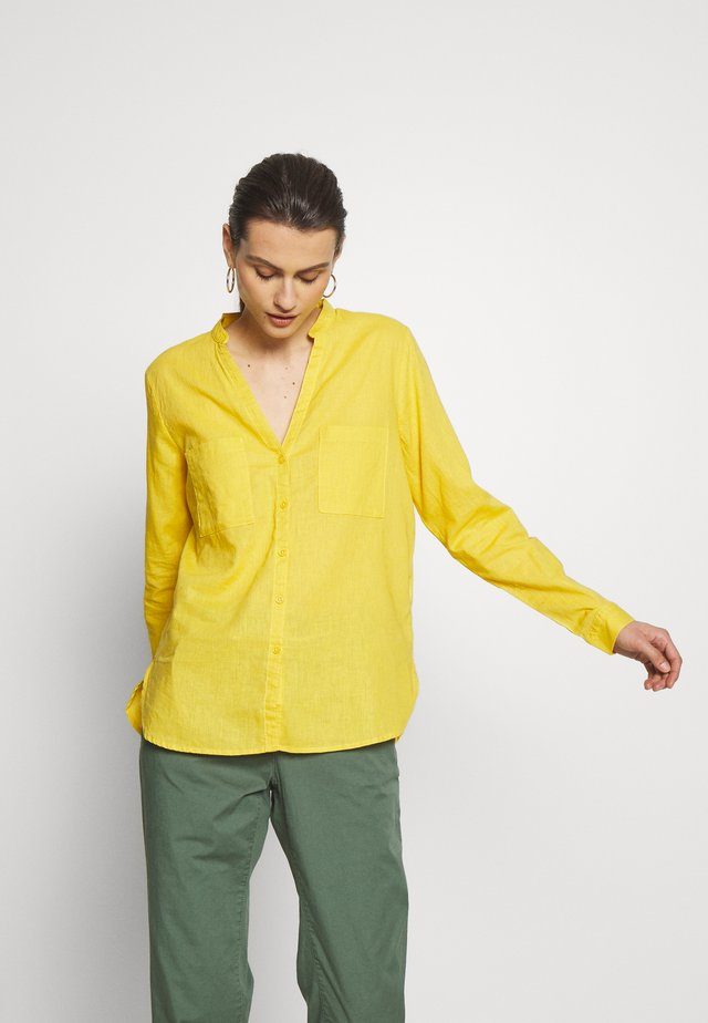 MAO LINO - Blouse - yellow/gold