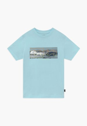 INVERSE TEE BOY - Camiseta estampada - coastal