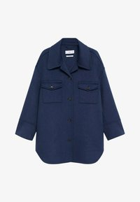 Mango - PASTILLA - Button-down blouse - bleu marine - 6