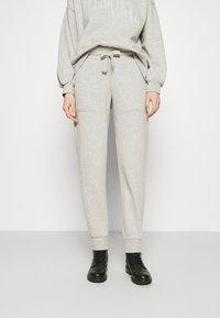 AllSaints - LUCIA  - Tracksuit bottoms - grey marl - 0