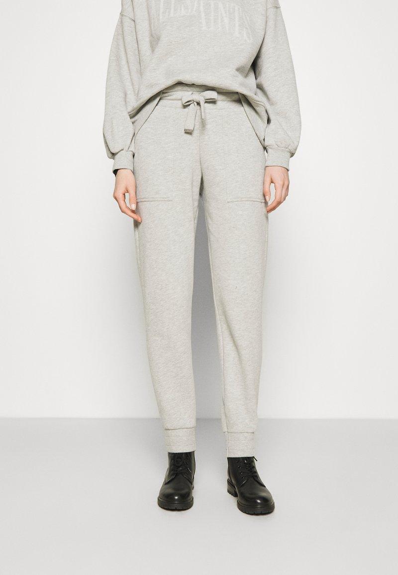 AllSaints - LUCIA  - Tracksuit bottoms - grey marl