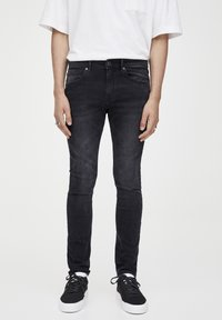 PULL&BEAR - Slim fit jeans - dark grey - 0