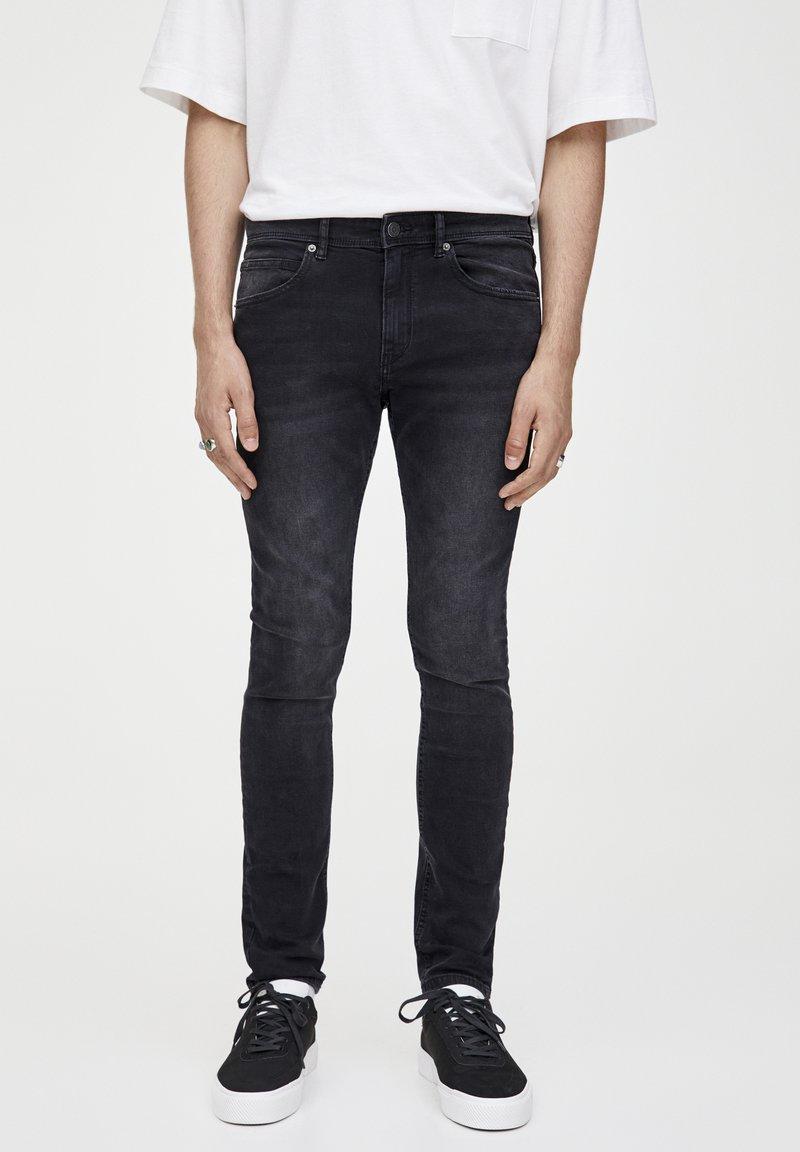 PULL&BEAR - Slim fit jeans - dark grey