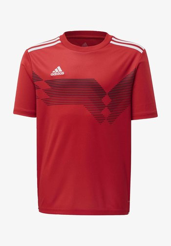 CAMPEON 19 JERSEY - Print T-shirt - red