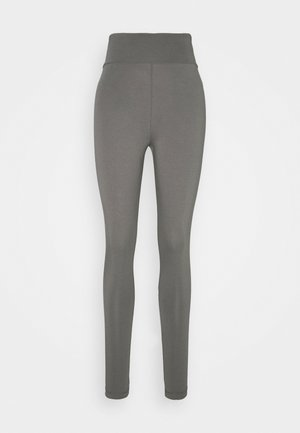 BASIC HIGHWAIST - Leggings - Trousers - dark grey