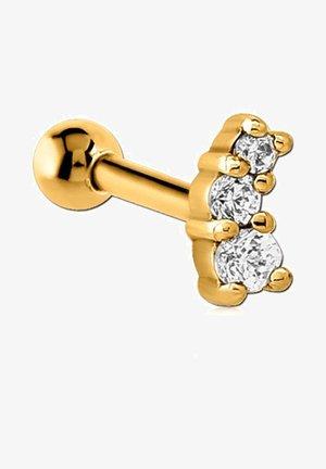MET ZIRKONIA - Earrings - goud
