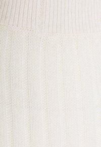 pure cashmere - SKIRT - Pouzdrová sukně - vintage white - 2