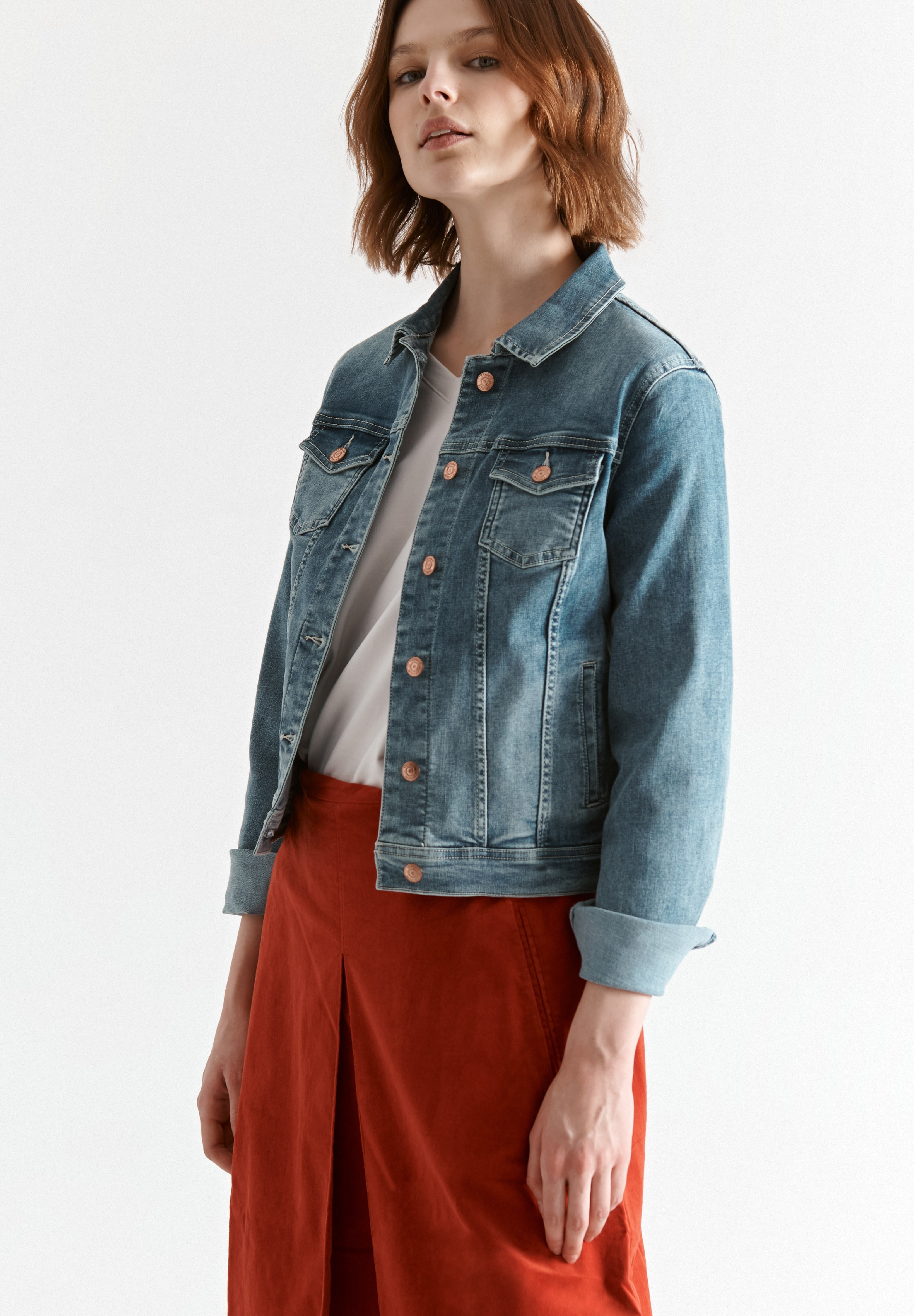 Femme BESKA - Veste en jean