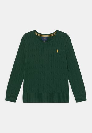 CABLE  - Strickpullover - college green
