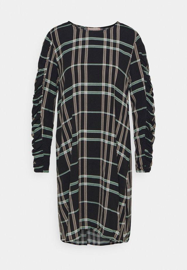 LILLIAN DRESS - Day dress - mono check