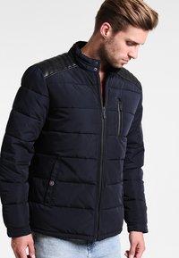 HARRINGTON - BIKER - Winter jacket - marine - 0