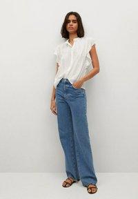 Mango - Button-down blouse - off white - 1