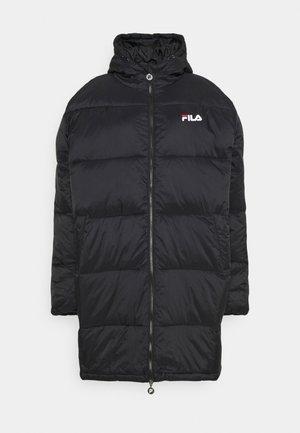 BRONWEN PUFF HOOD JACKET - Winter coat - black