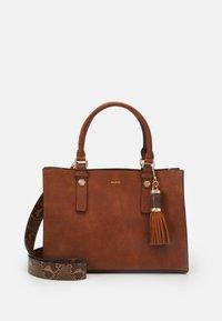 ALDO - MIX MAT - Handbag - cognac - 0