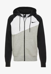 Nike Sportswear - Sudadera con cremallera - grey heather/white/black - 3