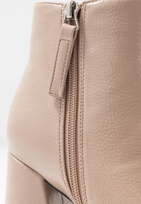 Topshop - HACKNEY POINT - High heeled ankle boots - taupe - 2