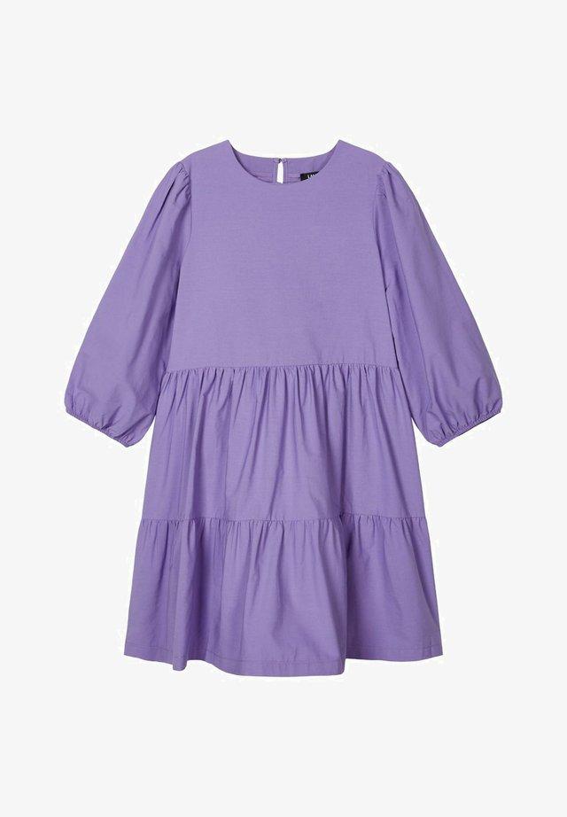 Day dress - aster purple