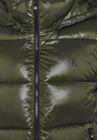 Calvin Klein Jeans - SHINY PUFFER - Vinterjakke - deep depths - 3