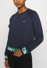 Tommy Jeans - BRANDED HEM - Sweatshirt - twilight navy - 4