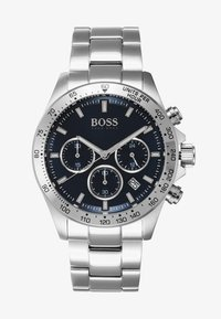 BOSS - Hodinky se stopkami - silver-coloured/metallic blue - 1