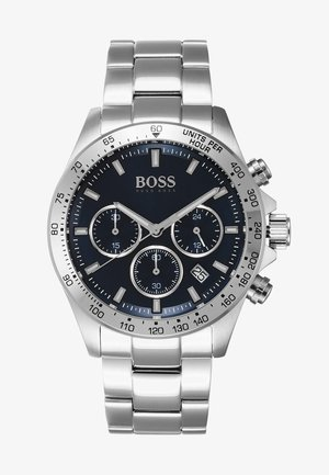 Chronograph - silver-coloured/metallic blue