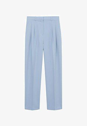 GRETA - Spodnie materiałowe - hemelsblauw
