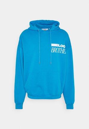 ASH HOODIE - Bluza z kapturem - blue