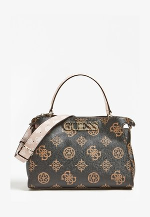 SAC A MAIN UPTOWN CHIC LOGO - Across body bag - marron