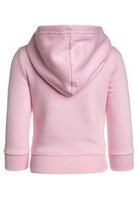 GAP - TODDLER GIRL LOGO - Zip-up hoodie - old school pink - 1