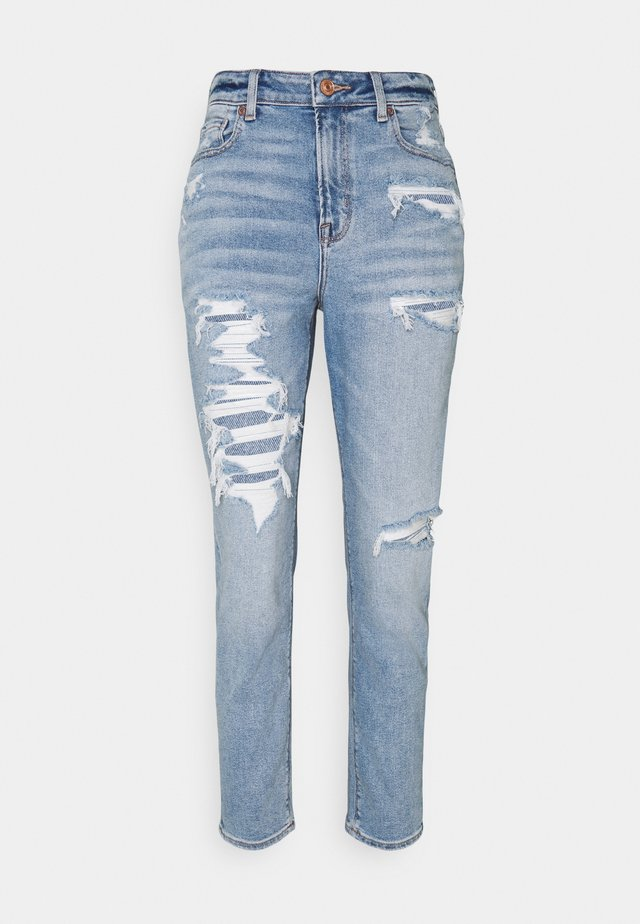 MOM - Slim fit jeans - blue path