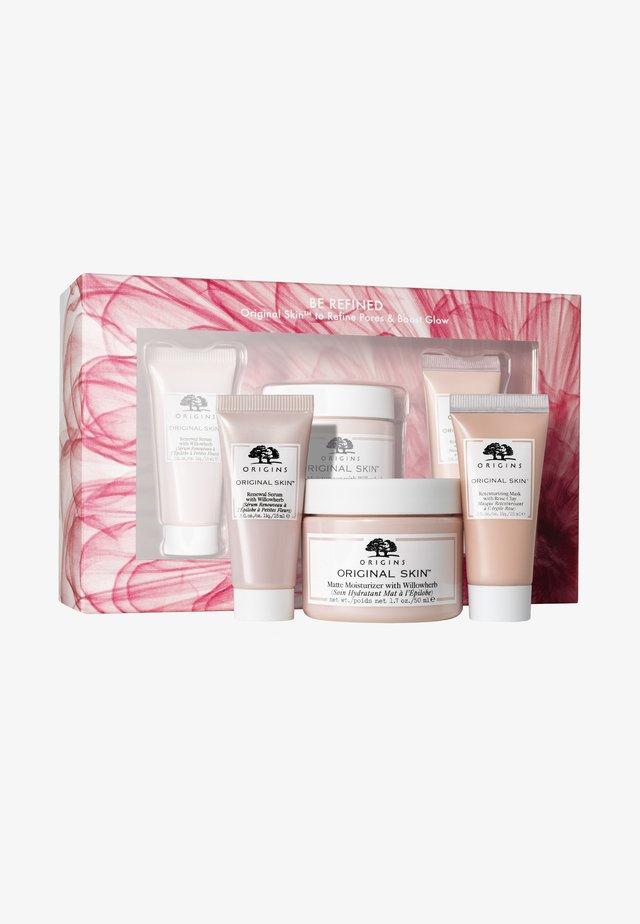 BE REFINED ORIGINAL SKIN SET - Skincare set - -