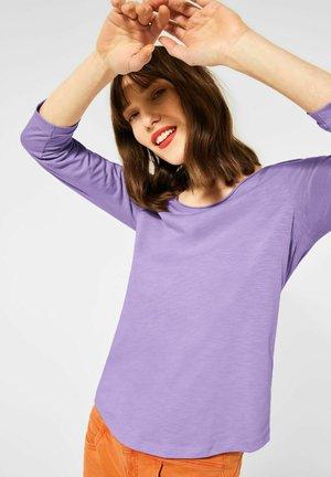 MIT 3/4 ÄRMEL - Long sleeved top - lila
