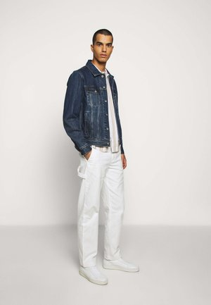 STRAIGHT LEG WORK PANT - Trousers - white