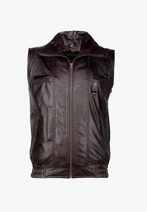 Waistcoat - dark brown