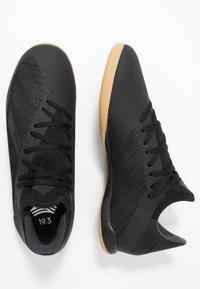 adidas Performance - X 19.3 IN - Indoor football boots - core black/utility black/silver metallic - 1
