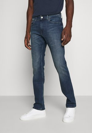 SCANTON - Slim fit jeans - dynm king deep blue stretch