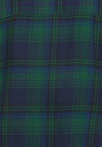 GAP - DRESS PLAID - Shirt dress - dark green - 7
