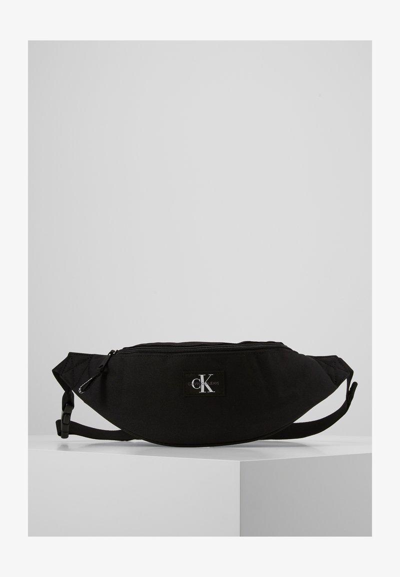 Calvin Klein Jeans - STREETPACK - Ledvinka - black