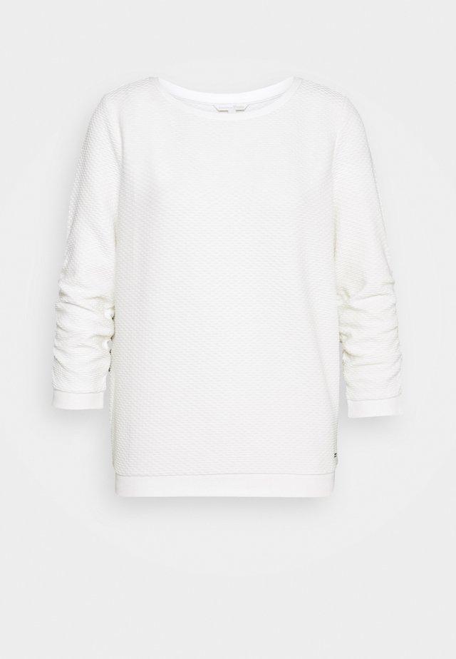 STRUCTURED - Sudadera - off white