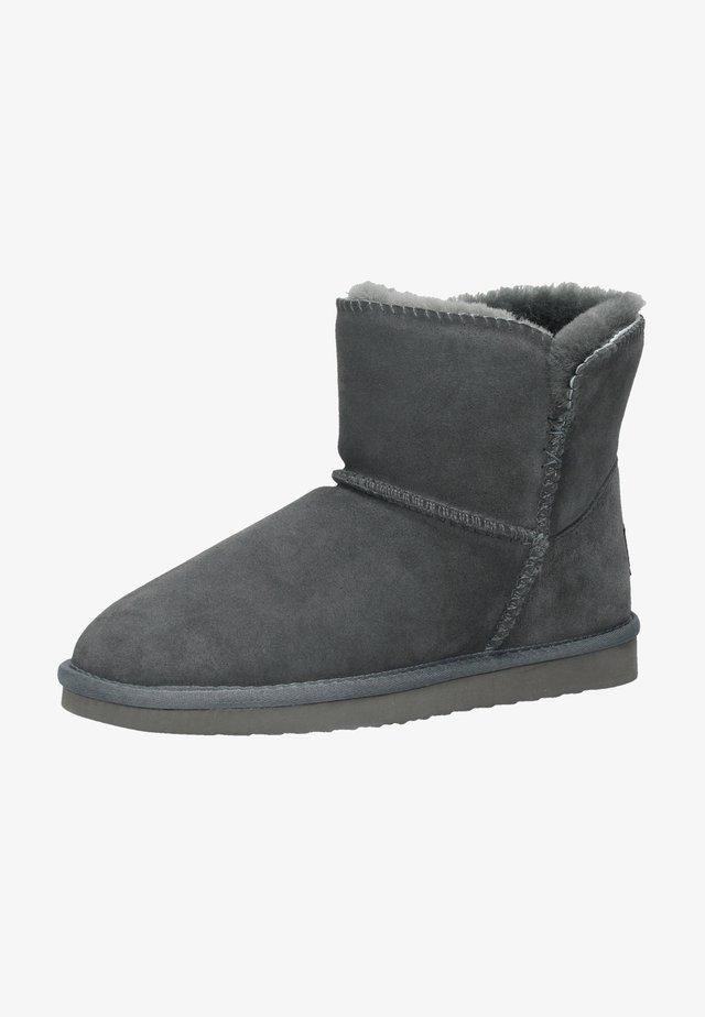 Boots à talons - dunkelgrau 31