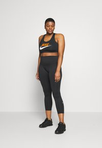 Nike Performance - ONE PLUS  - Tights - black/white - 1
