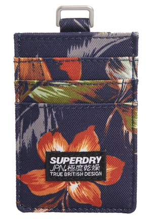 SUPERDRY FABRIC CARD WALLET - Business card holder - blue