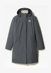 The North Face - W RECYCLED SUZANNE TRICLIMATE - Waterproof jacket - vanadis gry/vintage white - 0