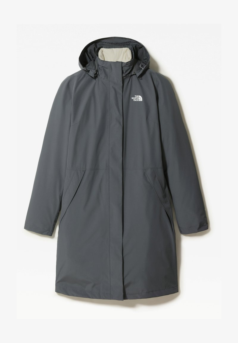The North Face - W RECYCLED SUZANNE TRICLIMATE - Waterproof jacket - vanadis gry/vintage white